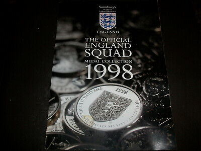 £0.99 • Buy Sainsbury's England France 98 World Cup Squad Medals Coins Choose From List
