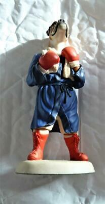 Vintage Boxing  Boxer Dog  Figure Marked With Number Nice Gift • 25£