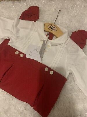 Emile Et Rose Baby Boy Xmas Outfit 12 Months • 3.80£