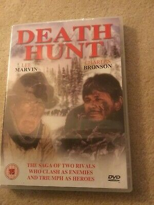 DEATH HUNT DVD - 1981 - CHARLES BRONSON - LEE MARVIN - REGION 2 UK VGC Free P&P • 13.99£