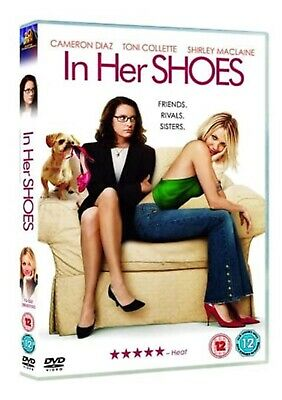 In Her Shoes (Cameron Diaz, Toni Collette, Shirley MaClaine) DVD,  Cert 12, F&F • 0.99£