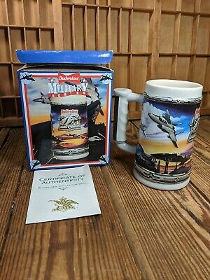 $ CDN19.46 • Buy BUDWEISER MILITARY SERIES AIR FORCE BEER STEIN  ~ NEW In BOX