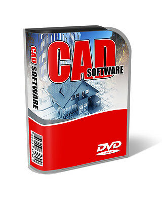 3D CAD Computer Aided Design Full Software Package For PC & Mac OSX • 14.97£