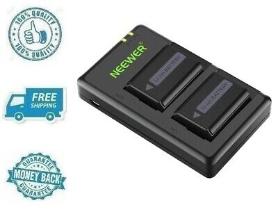 $ CDN49.99 • Buy New Camera Battery Charger Set For Sony A6000 A6500 A6300 A6400 A7 A7II A7S A7R