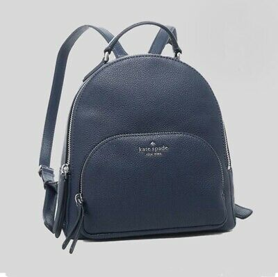 $ CDN152.95 • Buy NWT Kate Spade Jackson Medium Leather Backpack In Nightcap