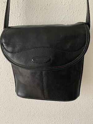 AU17.99 • Buy Oroton Genuine Beautiful Black Leather Shoulder/handbag, Excellent Condition