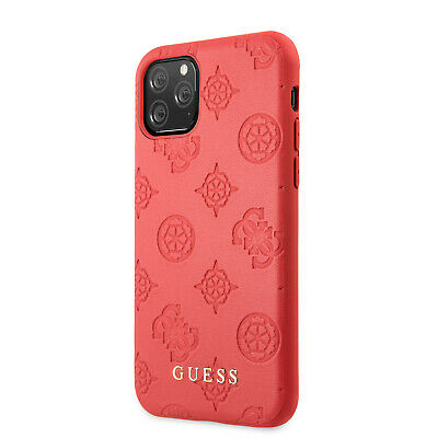 £25.59 • Buy Guess IPhone 11 Pro Max Debossed 4G Peony Kollektion Hülle Case Cover Rot