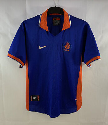 Holland Away Football Shirt 1997/98 Adults Large Nike D407 • 89.99£