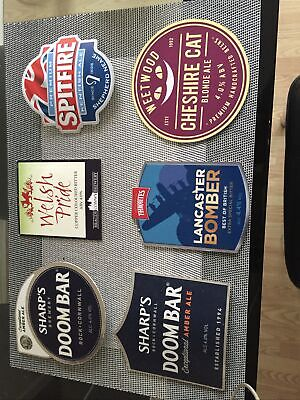 Beer Pump Clips / Collection/ Man Cave/ Bar • 4£