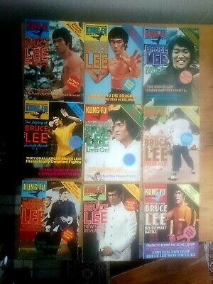 £65 • Buy Kung Fu Monthly - 1970's Bruce Lee Poster Magazines - Rare Vintage. Lot 1