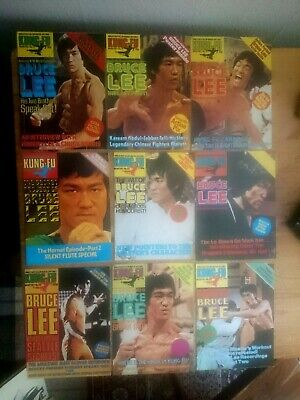 £65 • Buy Kung Fu Monthly - 1970's Bruce Lee Poster Magazines - Rare Vintage. Lot 2