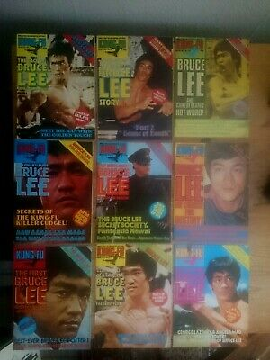 £65 • Buy Kung Fu Monthly - 1970's Bruce Lee Poster Magazines - Rare Vintage. Lot 3