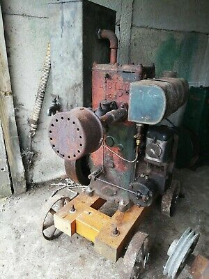 Lister D Stationary Engine Tank Cold Run Well Last Show  • 280£