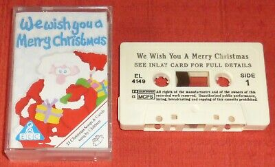 We Wish You A Merry Christmas (21 Songs And Carols) - Uk Cassette Tape - Elc • 7.99£