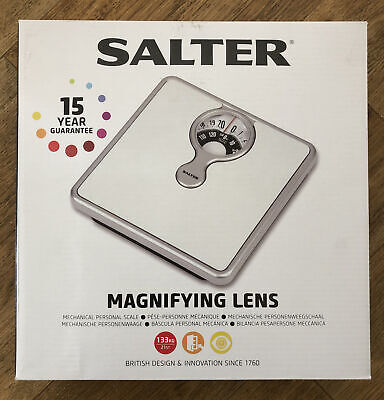 Salter Bathroom Weighing Scales. Magnified Traditional Display. New • 21.99£