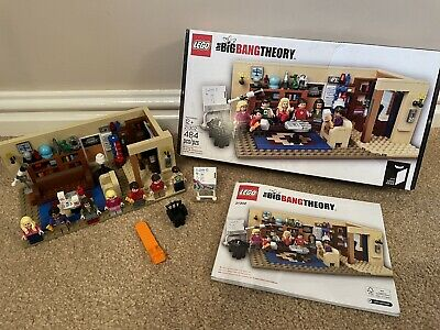 Big Bang Theory Lego Set 21302 Complete With Box & Instructions • 58£