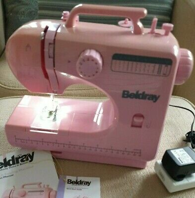 🎀 Lovely Pink Beldray 12 Stitch Sewing Machine • 9.99£