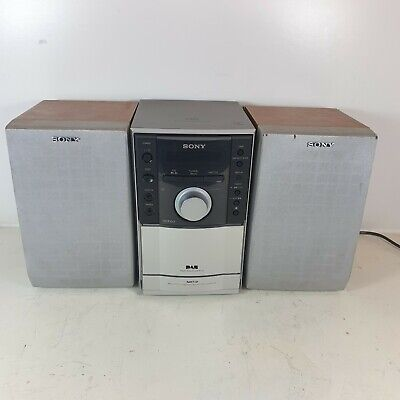 Sony CMT-EH20DAB Micro Hi-Fi System - CD MP3 DAB FM Cassette Tape With Remote • 59.99£