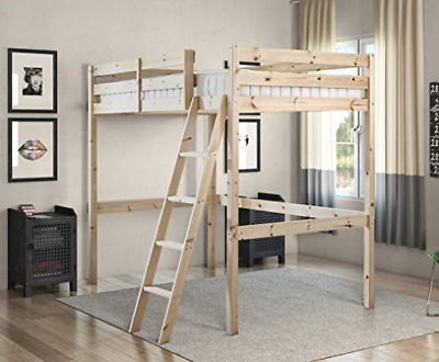 Strictly Beds And Bunks - Celeste High Sleeper Loft Bunk Bed, 4ft 6 Double • 308.57£