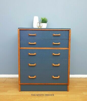 G Plan Chest Of Drawers - E Gomme Drawers - 1950's Mid Century Furniture- Retro  • 395£