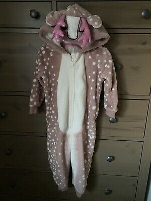 Reindeer Bodysuit All In One Age 2-3 • 4.50£