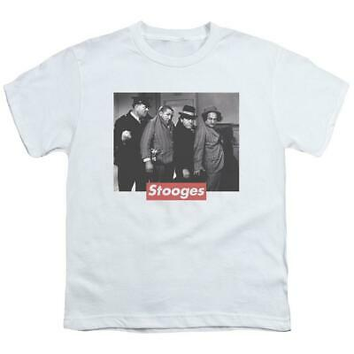 $ CDN25.30 • Buy The Three Stooges Supreme Rip Youth T-Shirt (Ages 8-12)
