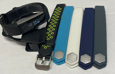 $ CDN46.57 • Buy Fitbit ALTA HR Wristband Activity Tracker FB408 Size Small Bands & Charger