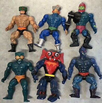 $47.99 • Buy He-man Masters Of The Universe Action Figure Lot Webstor Trap Jaw Merman Vintage