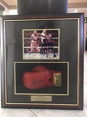AU1298 • Buy Mike Tyson Framed Signed Boxing Glove
