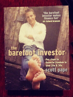 AU20 • Buy The Barefoot Investor By Scott Pape Paperback Five Steps To Financial Freedom