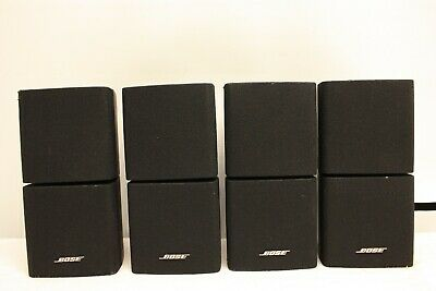 2 X Bose Double Cube Acoustimass 5 10 15  Lifestyle 18 28 Speakers Black  • 179.99£