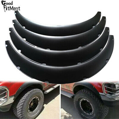 $59.79 • Buy 4x 3.5  90mm Car Fender Flares Extra Wide Body Kit Wheel Arches For Ford Explore