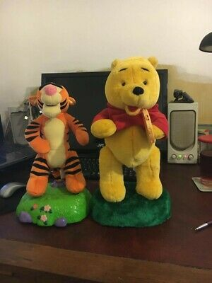 Winnie The Pooh And Tigger Interactive Toys • 20£