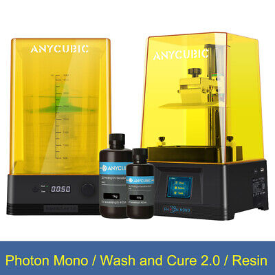 AU309 • Buy Anycubic LCD 3D Printer Photon Mono Wash And Cure 2.0 500g / 1KG Random Resin AU