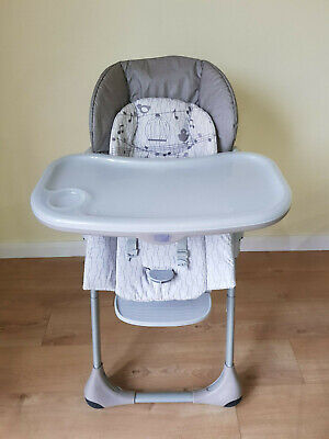 Chicco Polly Easy Baby High Chair Grey **GREAT CONDITION** • 22£