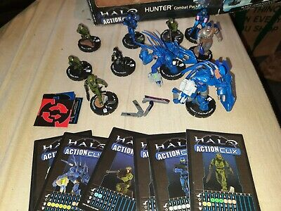 Halo Actionclix Bundle, Used, Map, Tokens And Cards Included • 25£