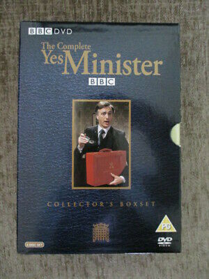 Yes Minister Dvd Boxset Series 1-3 • 9£