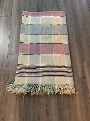 Vintage Cambrian Mill Welsh Blanket • 40£