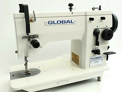 GLOBAL ZZ 509 Full Industrial Sewing Machine & Motor. Leather, Canvas, Etc NEW ! • 579£