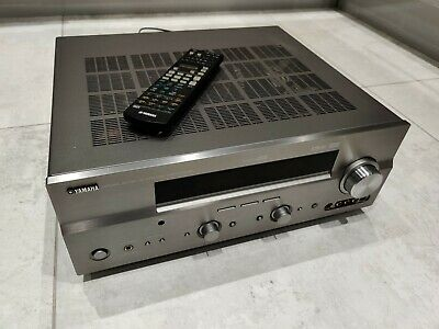 Yamaha DSP - AX 750 SE Silver Home Theatre 7.1 System Amplifier + Remote Control • 100£