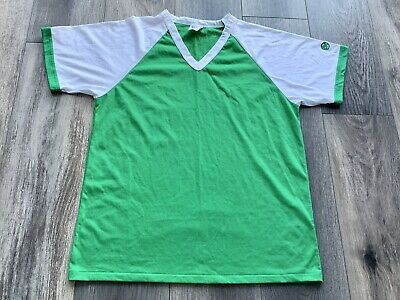 $ CDN21.99 • Buy Mens Vintage AK Athletic Knit Basebal S/s T-Shirt Made In Canada Green 70s