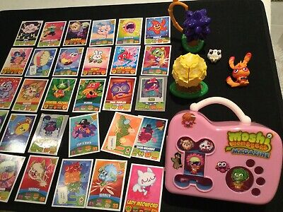 Moshi Monsters Toys Bundle With Pink Carry Case , Cards And Figures • 0.99£