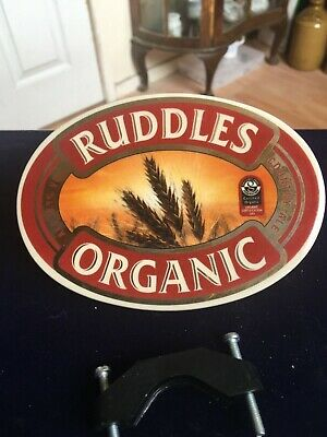 3 X Pottery Beer Pump Clips Of Ruddles Organic (unused In Packet) • 5£