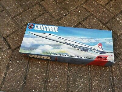 £19.99 • Buy Vintage Airfix Kit. 1/44 Concord Model. Empty Box Only...