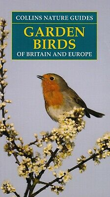 Collins Nature Guides Garden Birds Of Britain & Europe BRAND NEW BOOK (P/B 2019) • 6.10£