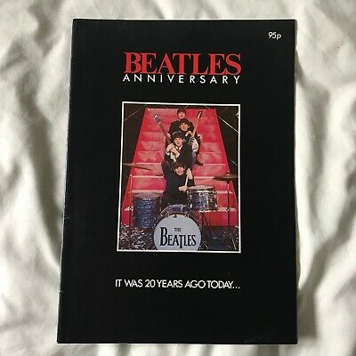 The Beatles Anniversary Magazine From 1982 It Was 20 Years Ago Today • 2.99£
