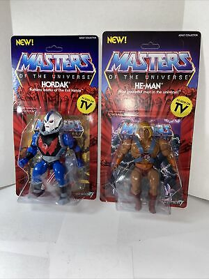 $44.99 • Buy MOTU VINTAGE COLLECTION MASTERS OF THE UNIVERSE SUPER7 5.5  HORDAK And HeMan Lot