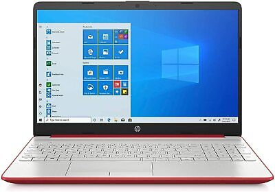 "View Details NEW HP 15.6"" Laptop Intel Dual 2.4GHz 500GB HDD 4GB RAM Webcam Windows 10 - Red • 351.99$"