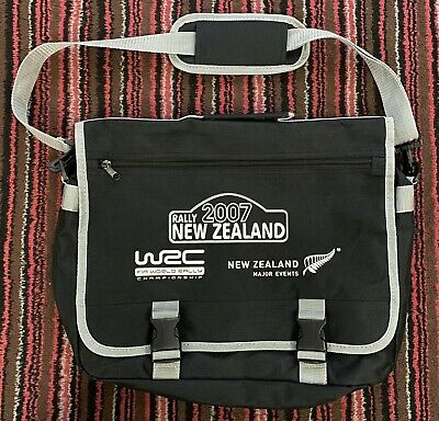 Original Document Bag New Zealand 2007 WRC Rally Issued To Competitor Co Driver • 29.99£