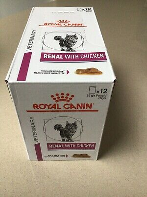 Royal Canin Renal Feline Chicken Cat Food, 85g X 12 Pouches  • 10.50£